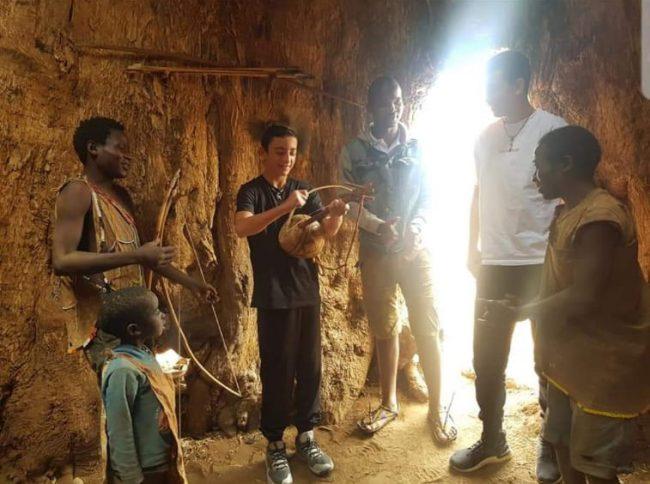 טיול משפחתי לאפריקה - טיול בר מצווה