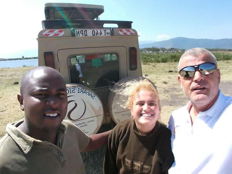 חופשה משפחתית באפריקה