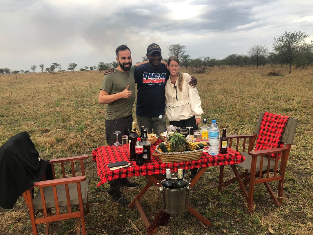 לחגוג ירח דבש באפריקה