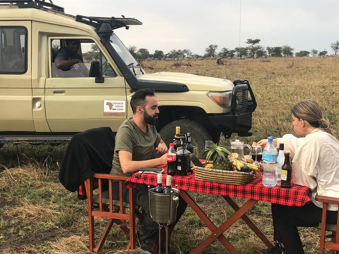 טיולי זוגות וטיולי ספארי באפריקה