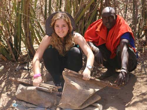 טיול בת מצווה לאפריקה