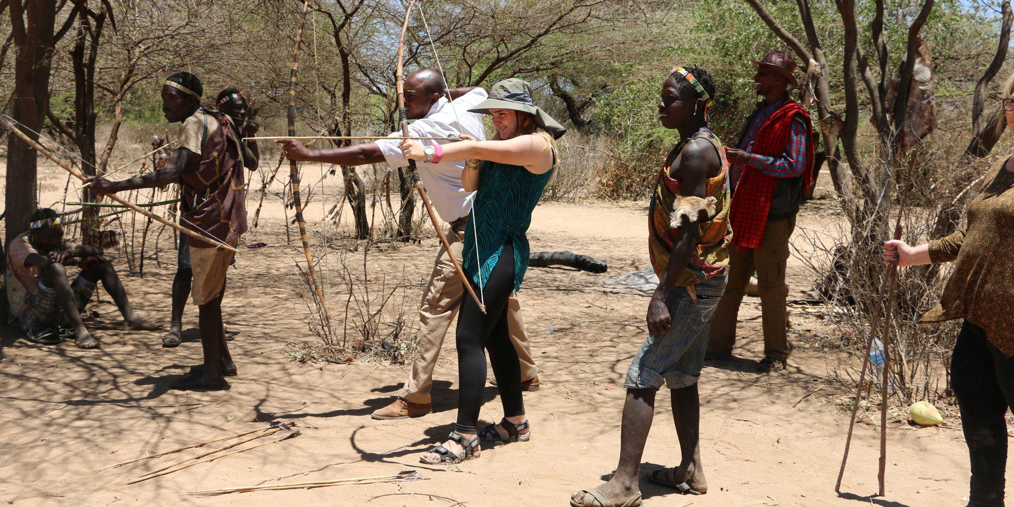 חץ וקשת באפריקה