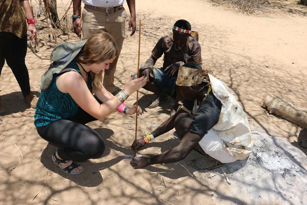 ביקור שבטים באפריקה