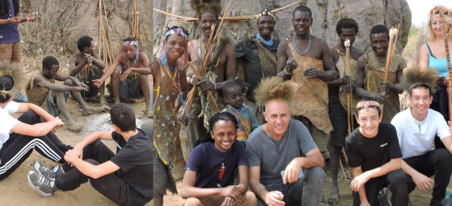 טיול בר מצווה משפחתי באפריקה