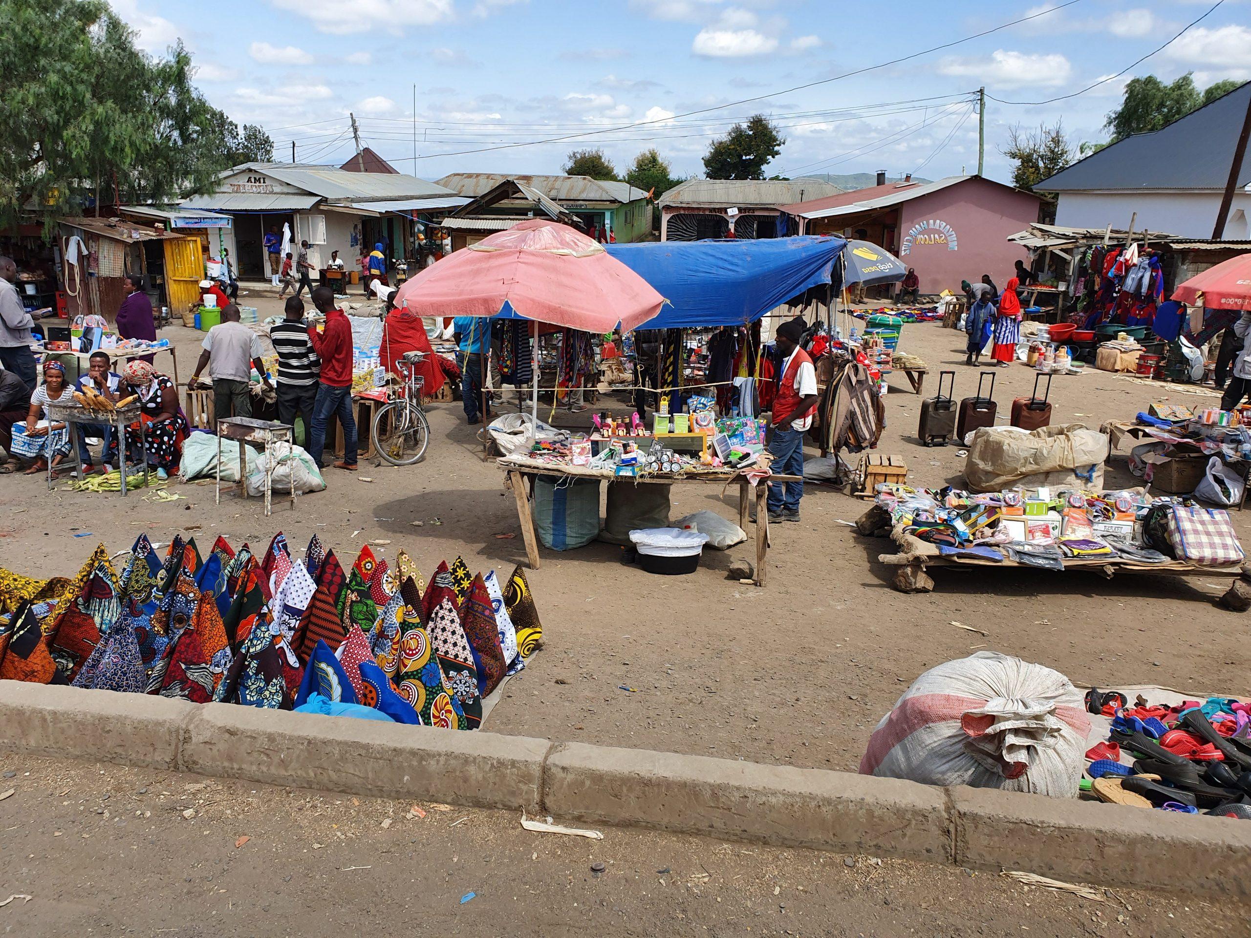 שוק מקומי באפריקה