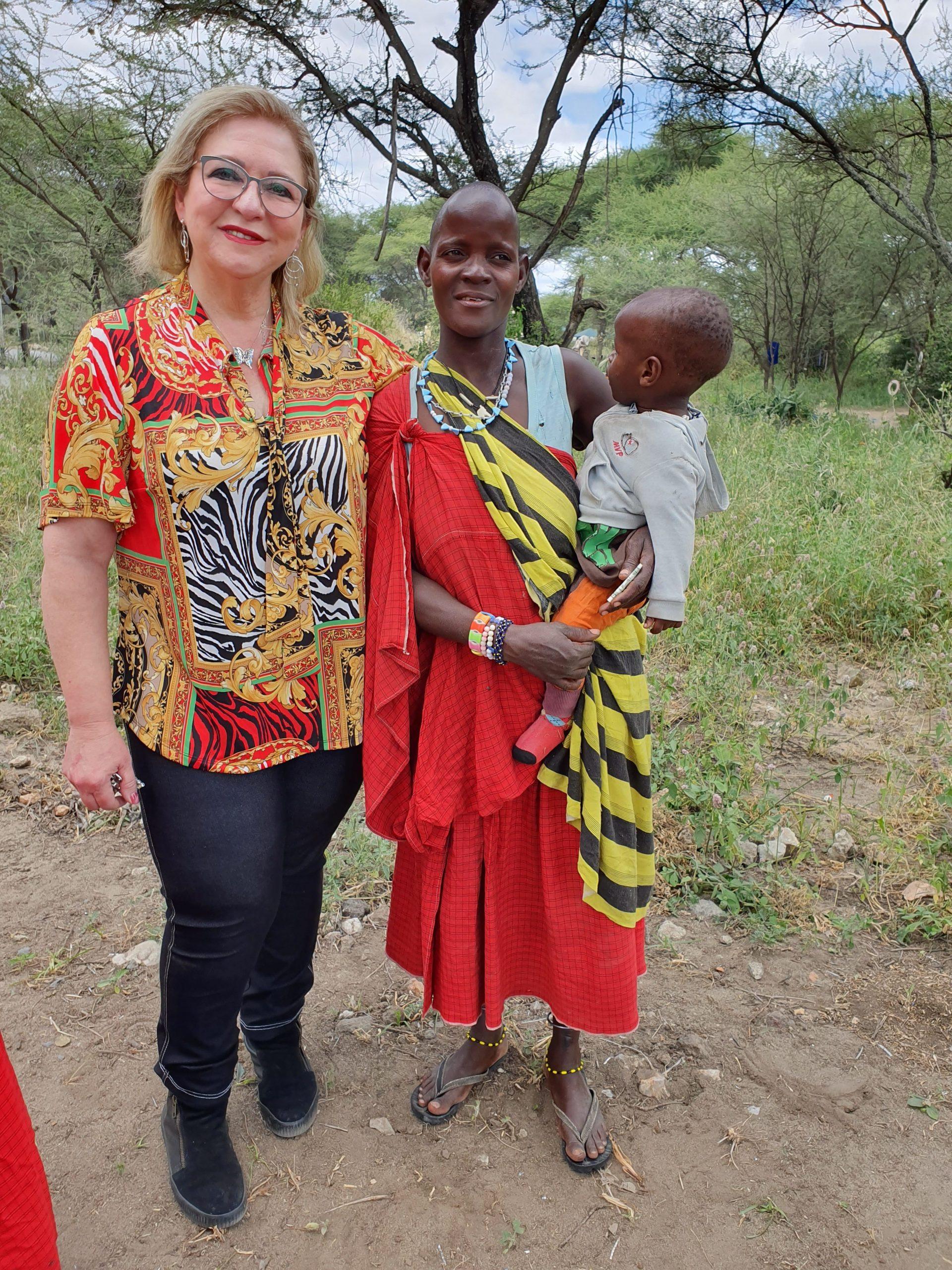 אישה משבט המסאי בטנזניה