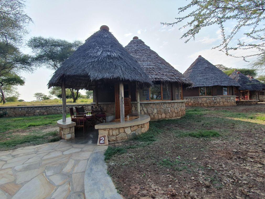 לודג׳ בשמורת טרנגירי באפריקה