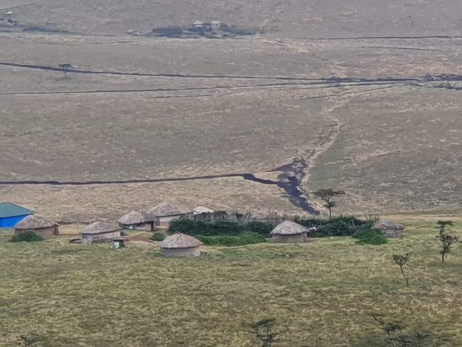 מכתש Ngorongoro בשמורה אפריקה