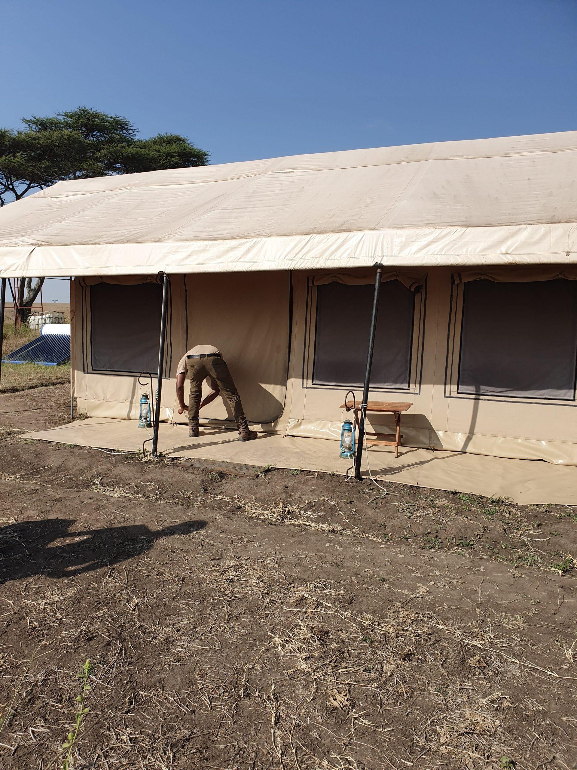 לוד׳ בטנזיה, טיול מאורגן בטנזניה