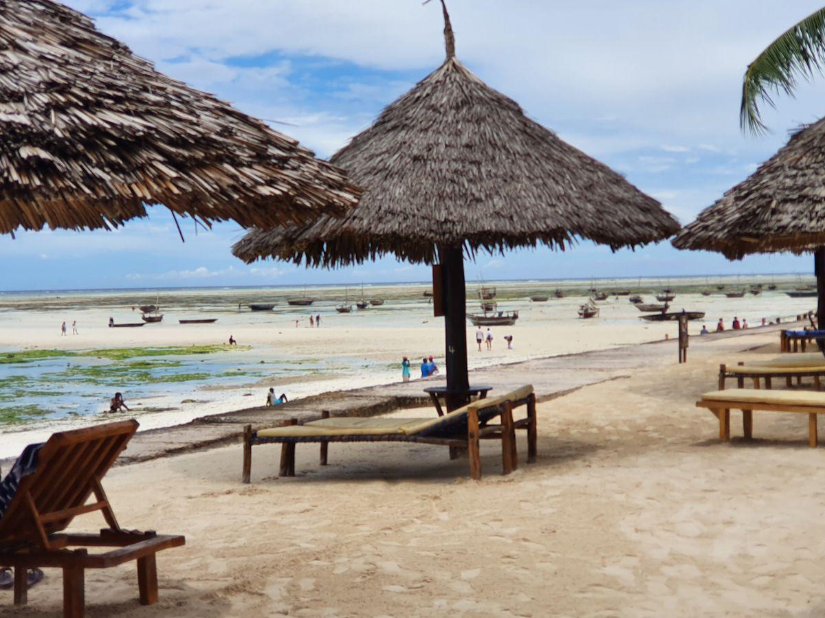 חוף ים בזנזיבר