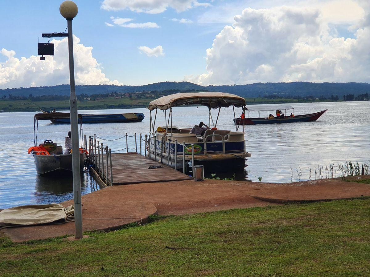 שייט בנהר אוגנדה