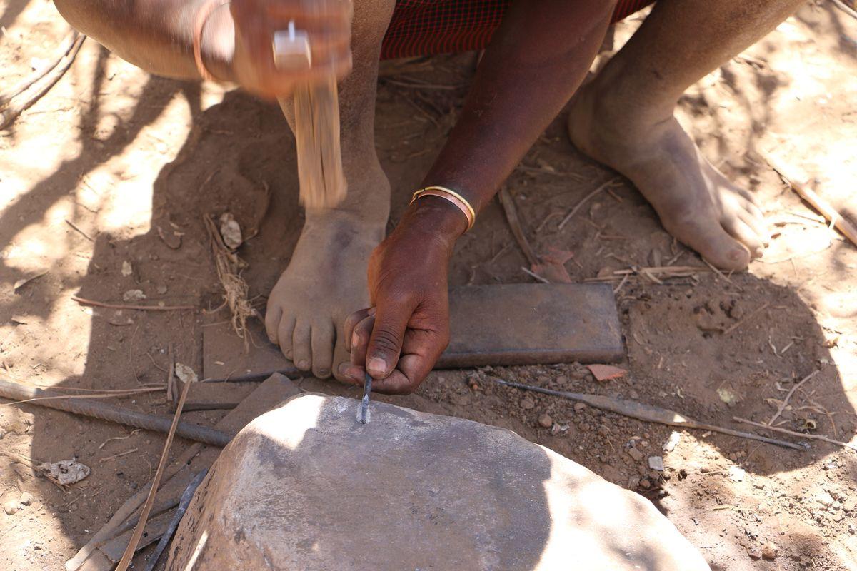 הכנת כלים בתרבות אפריקה