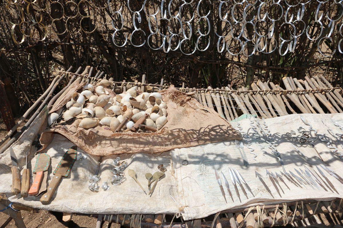 כלים ותכשיטים באפריקה