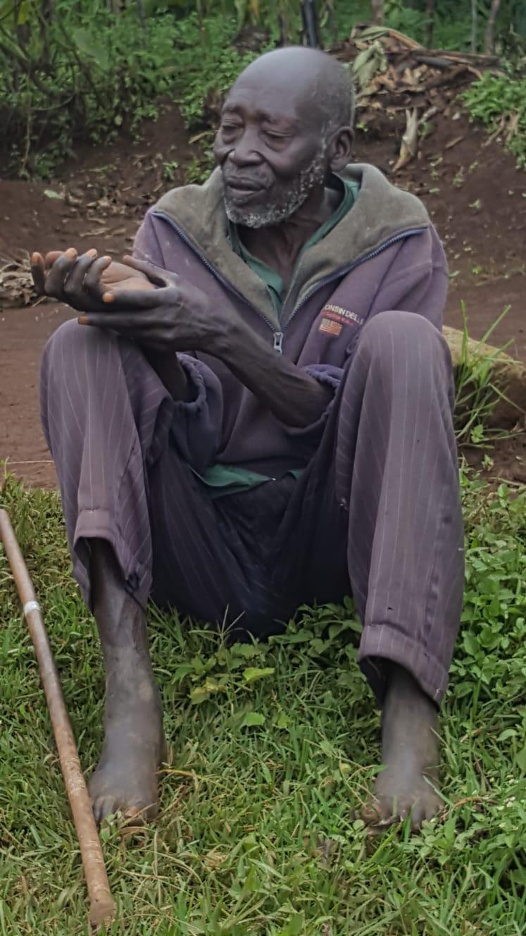 מקומי בטיול באוגנדה