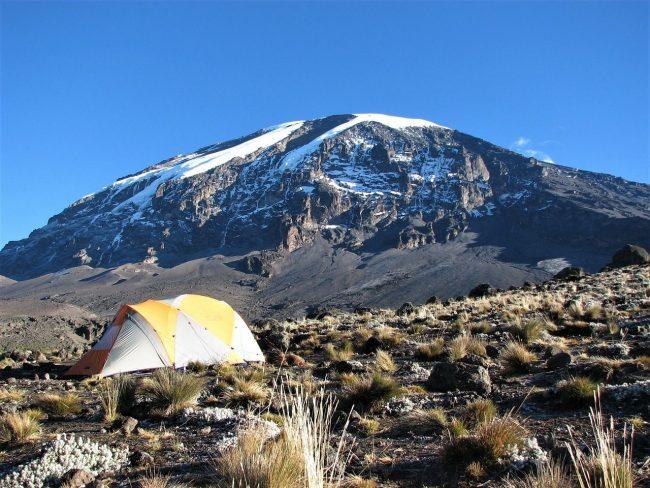 טיול הרים אפריקה