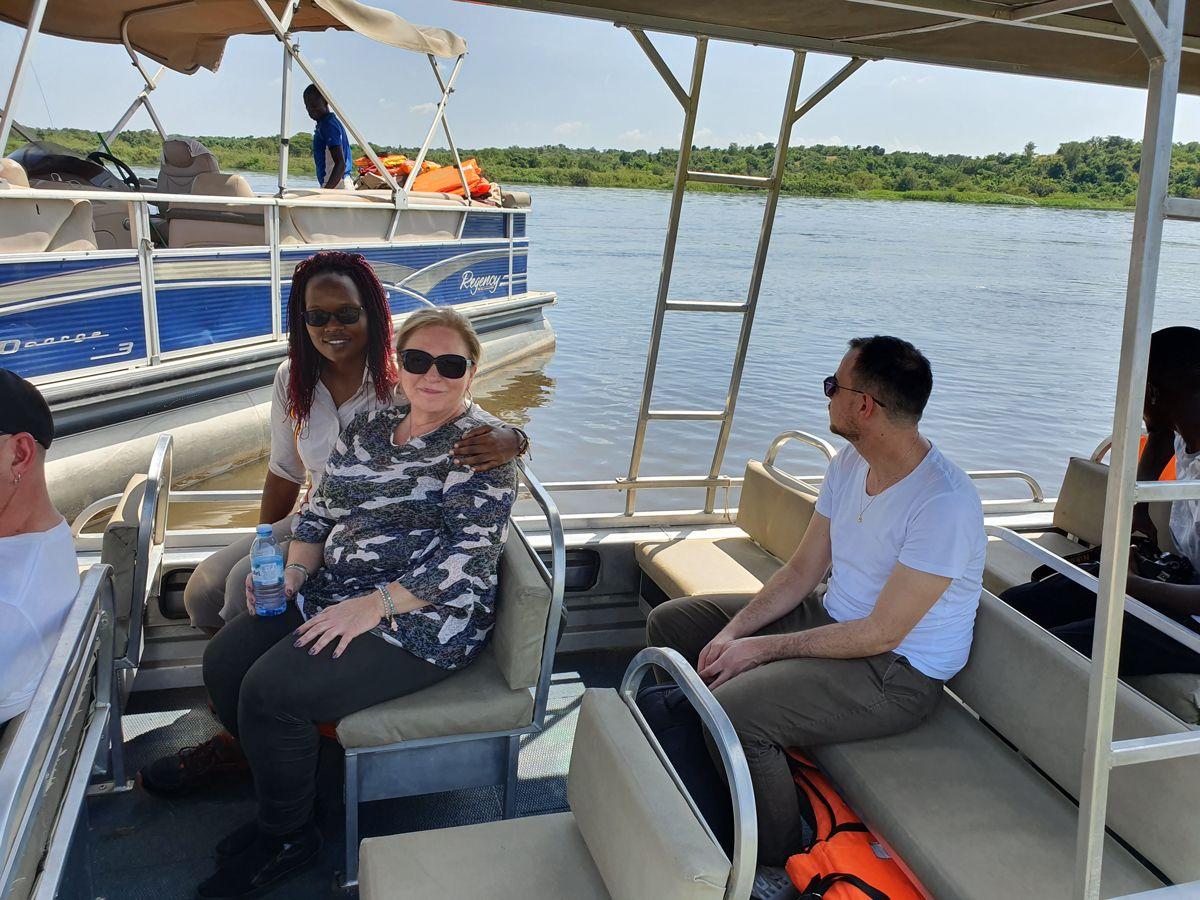 מפלי Murchison, טיול באוגנדה
