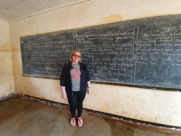 משלחות לאפריקה - רחל לוי