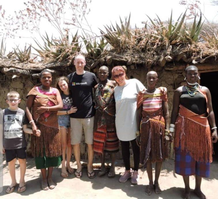 הטיול של משפחת לביד בטנזניה