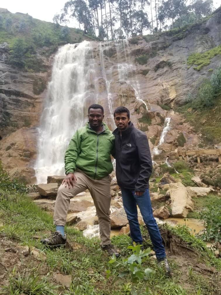 מפל בפארק וולקנו רואנדה