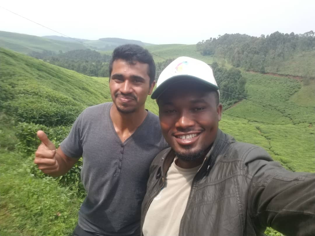 טרקים בפארק הרי הגעש ברואנדה