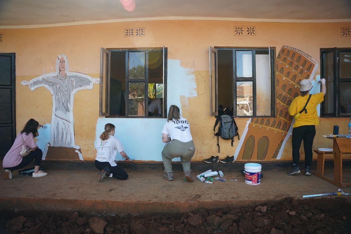 התנדבות בטנזניה- משלחת הראל