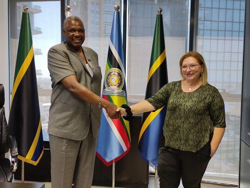 שיתוף פעולה עם שגרירות טנזניה