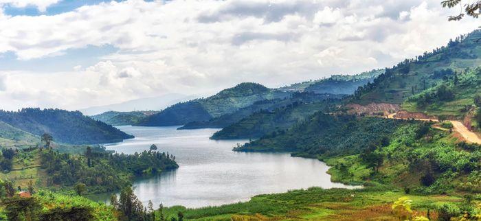 אגם קיוו - רואנדה